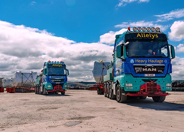 Heavy haulage solutions with nationwide UK coverage