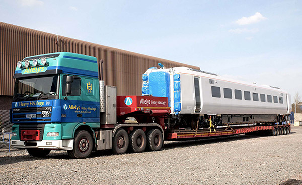 Rail sector logistics services