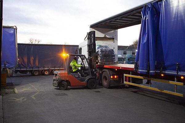 Pallet haulage, warehousing and storage