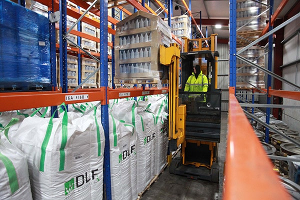 Store goods within our facility and then request transport as and when required