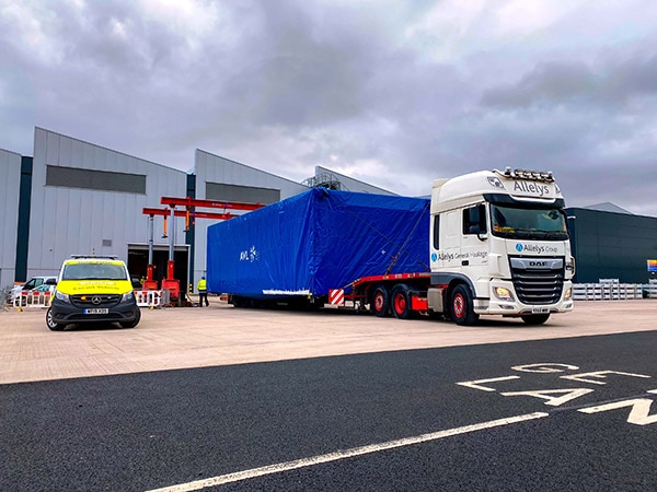General haulage of abnormal loads