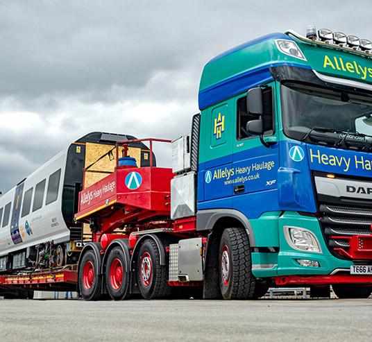 Multiple unit vehicles train transport