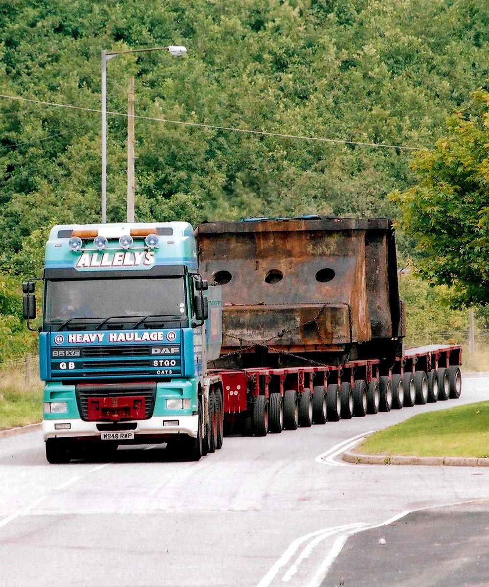 Allelys Heavy Haulage Road Transport