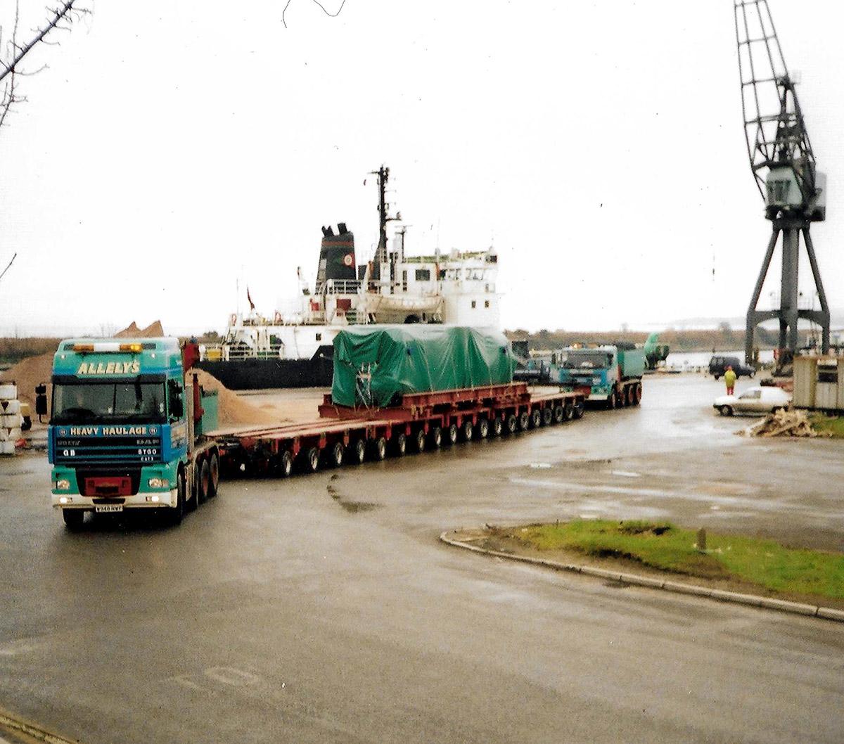 Allelys Heavy Long Vehicle Haulage Road Transport
