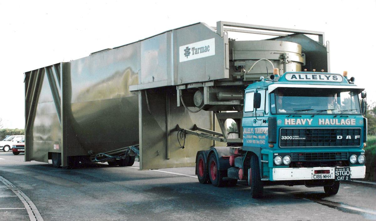 Allelys heavy lifting transport