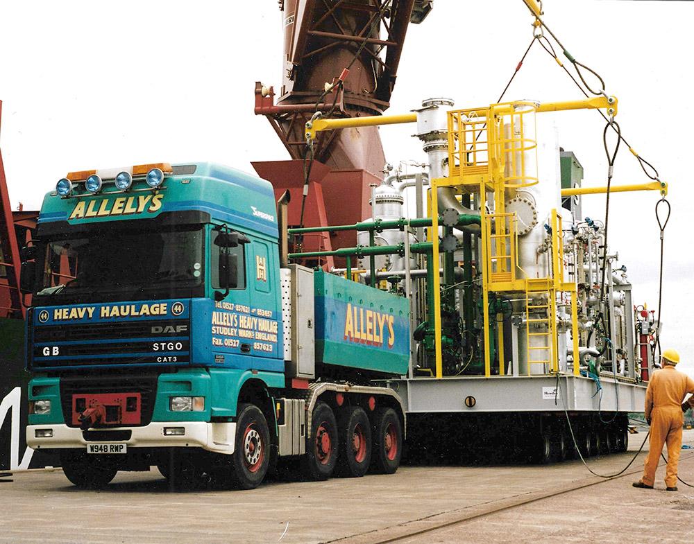 Allelys Heavy Crane Haulage