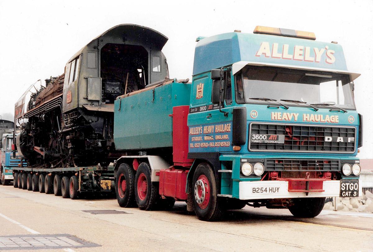 Allelys Heavy Haulage Train Road Transport