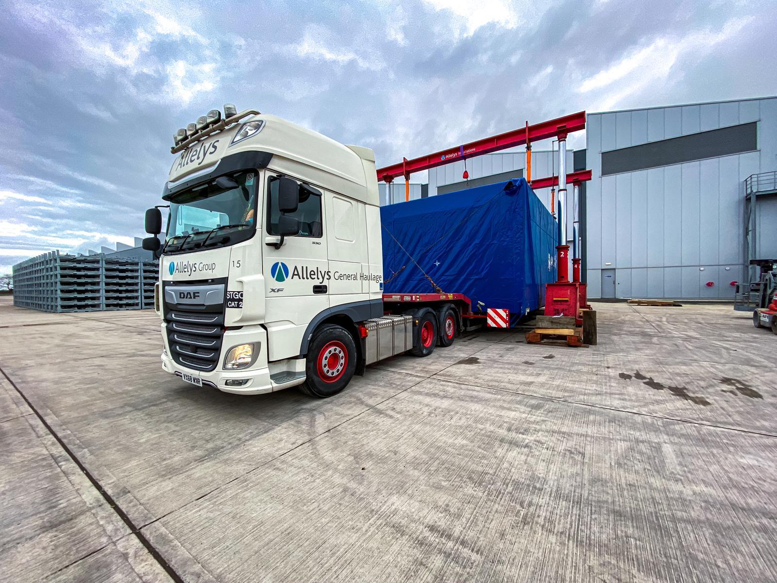 Allelys Heavy Haulage Lorry