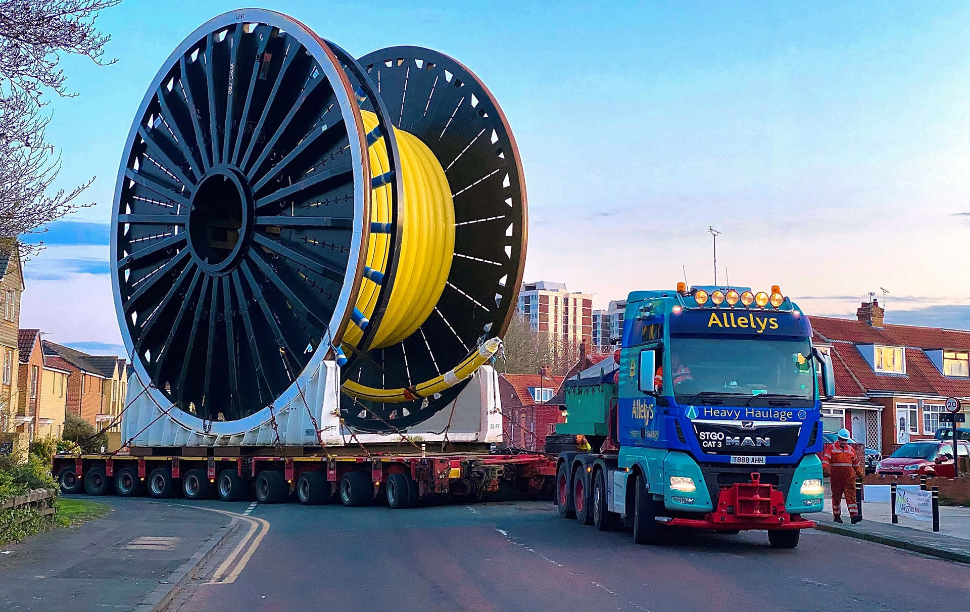 Heavy haulage for oil and gas
