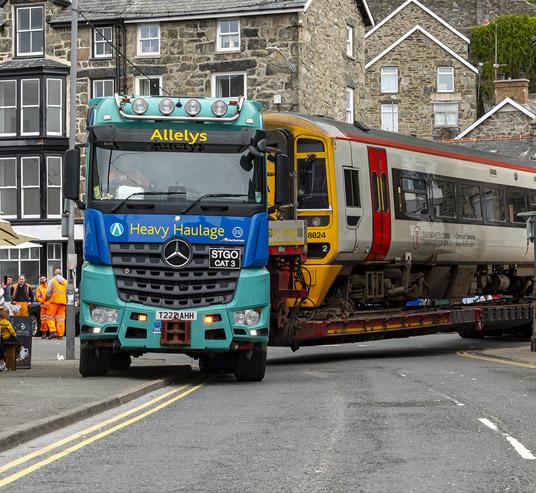 Rolling stock transport